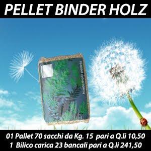PREZZI PELLET BINDER HOLZ AUSTRIACO OFFERTA PRESTAGIONALE 2018 ...